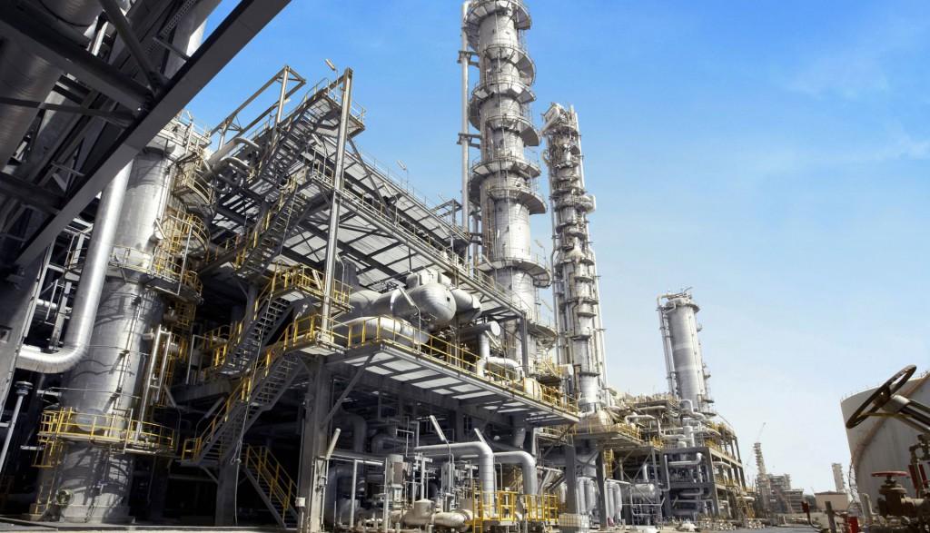 petrochemische installatie slider